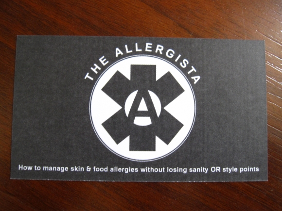 allergista_first_business_card