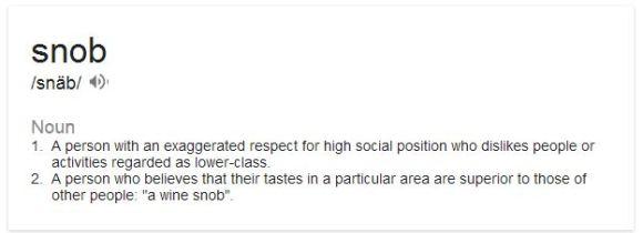 snob_definition