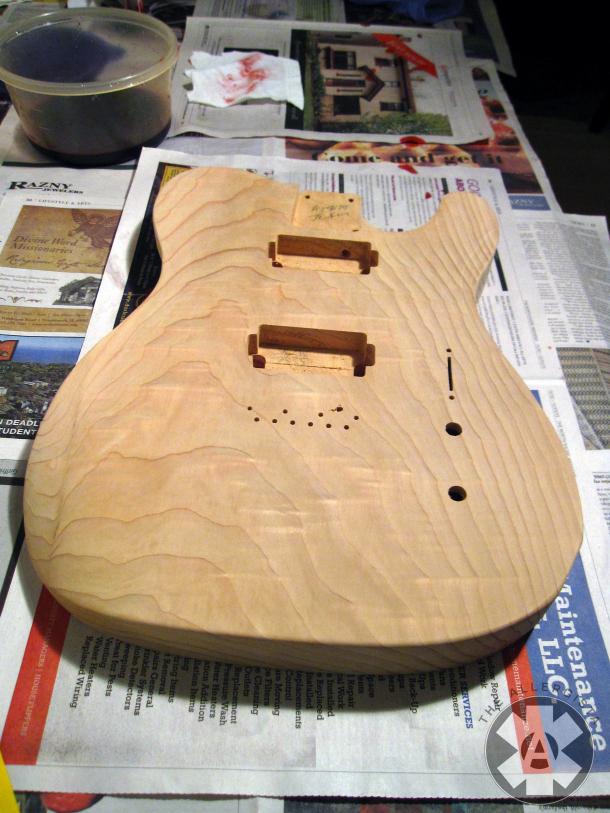 guitar body cedar